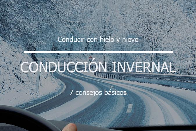 Consejos básicos para la conducción en hielo y nieve